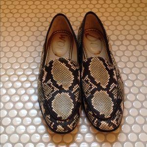Sam Edelman | Snake Loafers Size 10 reptile